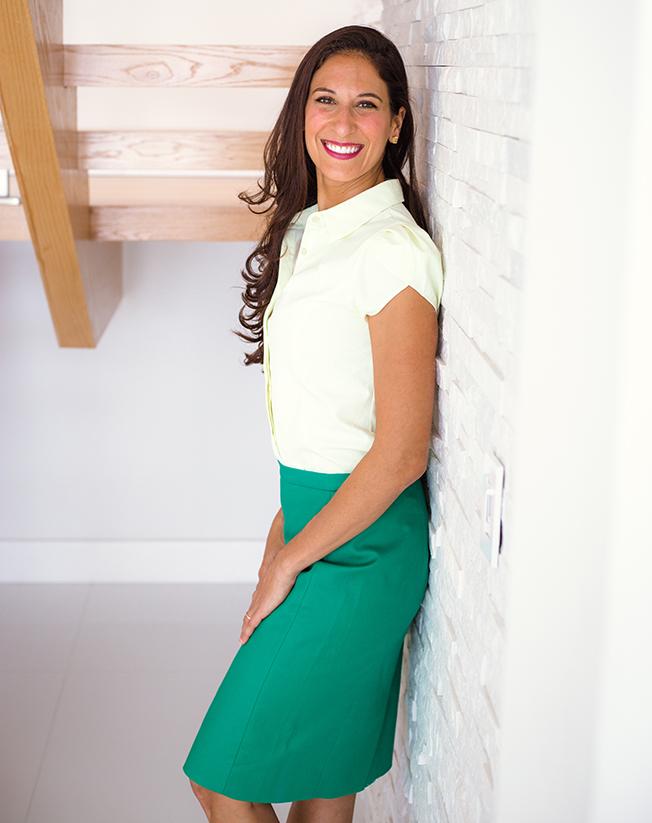 Jasmin Terrany, LMHC staircase